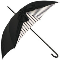 Drape Umbrella in Black and Cream Strip by Chantal Thomass