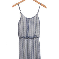 The Gingham Dress in Blue