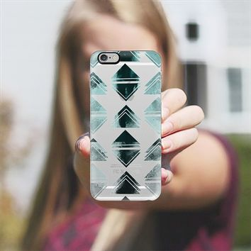 Triangles watercolor 3 iPhone 6 Plus case by VanessaGF | Casetify