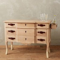 Dipped Oak Collection, Sideboard by Anthropologie Neutral One Size House & Home