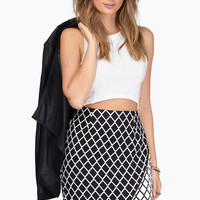 Zipcode Asymmetrical Skirt $37