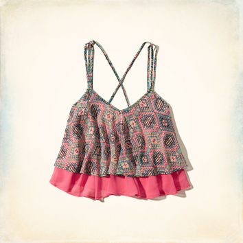 Two-Tier Print Cami