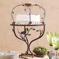 Kitchen & Dining - Bird Metal Pedestal