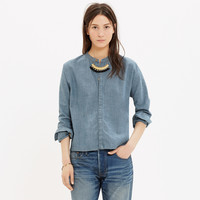 CHAMBRAY DOLMAN SHIRT
