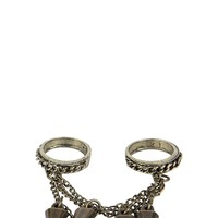 Abbi Spike And Chain Ring Harness