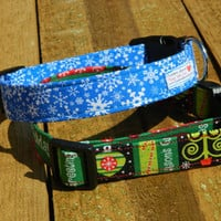 Large/ XL Holiday Cheer Collar Combo