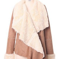 Chicwish Drape Aspen Jacket in Camel - Outers - Retro, Indie and Unique Fashion