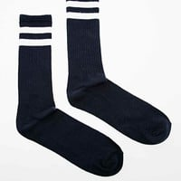 Carhartt College Socks in Blue and White - Urban Outfitters