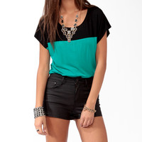 Boxy Colorblocked Top