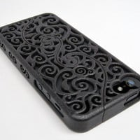 PRE-ORDER (5-8 weeks) iPhone 5 Designer Victorian Filigree Swirl Puzzle Case (in 3D printed Nylon) - 4 color options
