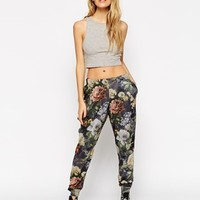 ASOS Lounge Jogger in Winter Floral Print