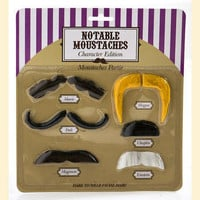 Notable Moustaches