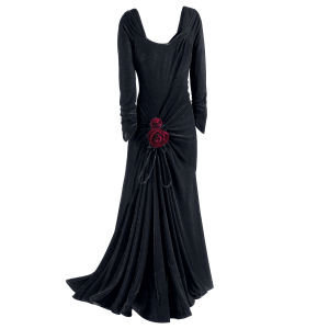 Gothic Rose Velvet Gown - New Age & Spiritual Gifts at Pyramid Collection