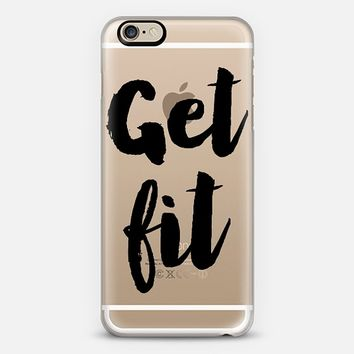 Get Fit iPhone 6 case by Allyson Johnson | Casetify