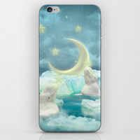 Guard Your Heart. Protect Your Dreams. (Beluga Dreams) iPhone & iPod Skin by Soaring Anchor Designs