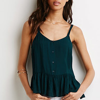 Buttoned Babydoll Cami