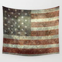 """""""Old Glory"""", The Star-Spangled Banner Wall Tapestry by Bruce Stanfield"""