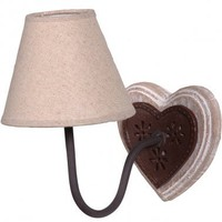 NEW! Maya Heart Wall Lamp (Pair)