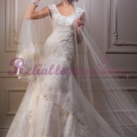 Beautiful A-line Straps Lace Beach Wedding Dress-$357.95-ReliableTrustStore.com