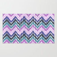 Ikat Chevron Rug by Noonday Design