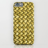 Patchwork Gold iPhone & iPod Case by Alice Gosling