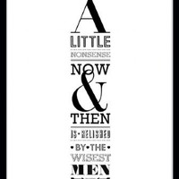 Print By Ros Shiers - Willy Wonka Quotation