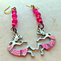 Kokopelli Charm Earrings Direct Checkout