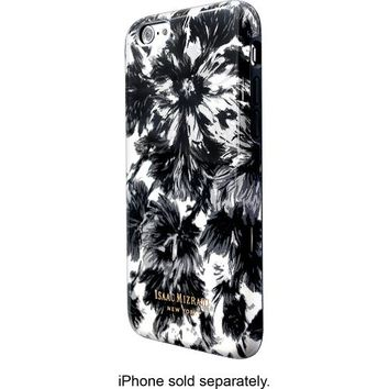 Isaac Mizrahi New York - Floral Case for Apple® iPhone® 6 - Black/White