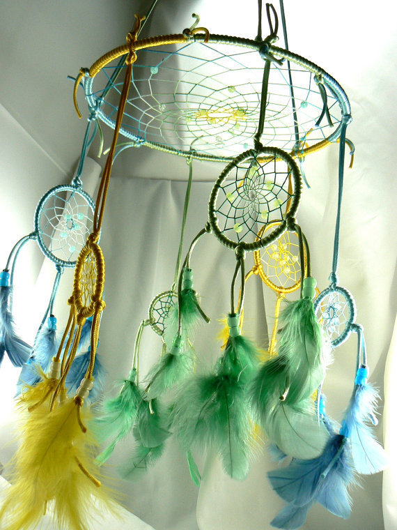 Dream Catcher Mobile by Winchestergems on Etsy