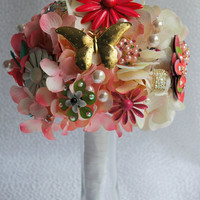 Bridal Brooch Bouquet - READY TO SHIP
