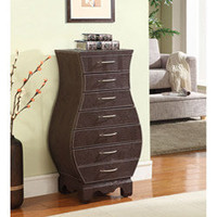 Croc 7-drawer Wood Armoire | Overstock.com