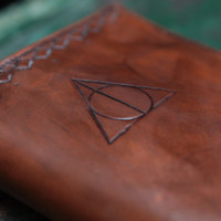 Harry Potter Deathly Hallows by ScoutsHandmade on Etsy