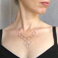 Sterling Silver Necklace - Drops Necklace