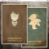 SALE 5 off Harry Potter Movie Poster by balancedpersonality