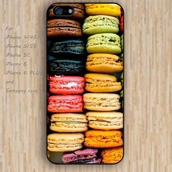 iPhone 5s 6 case colorful macarons case phone case iphone case,ipod case,samsung galaxy case available plastic rubber case waterproof B272