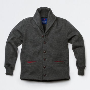 Shawl Neck Sweater Coat