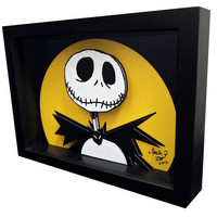The Nightmare Before Christmas Jack Skellington 3D Pop Art