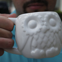 Owl Mug Handmade Ceramic from my Charleston, SC Studio