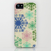 Pattern - Mulitcolor Stylized Flower 2 iPhone Case by Susan Weller | Society6