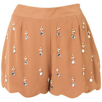 **Embellished Shorts by Coco's Fortune - Shorts  - Clothing