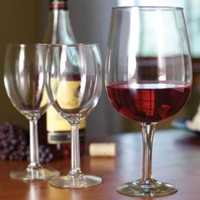 Giant Wine Lovers Glass Goblet: Holds a Full Bottle of Your Favorite Vintage: Amazon.com: Kitchen & Dining