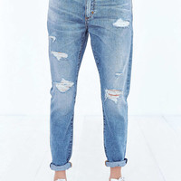 NEUW Sister Ray Jean - Busted Blue - Urban Outfitters