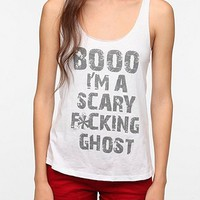 Corner Shop Boo Im A Scary Ghost Tank Top