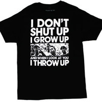 I Don't Shut Up - Stand By Me T-shirt - MyTeeSpot - Your T-shirt Store
