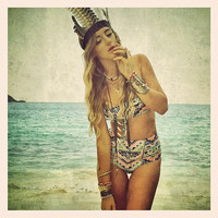 As SEEN in DISFUNKSHION Magazine: Create your own KAAWA high waisted bikini bottoms