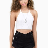 Point You Out Metal Body Chain $11