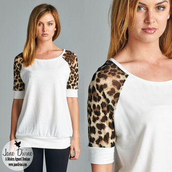 Wild About You Top | Jane Divine Boutique