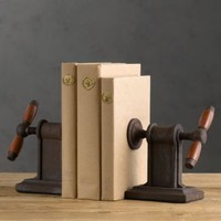 Vise Bookends (Set of 2) | Books  Bookends | Restoration Hardware
