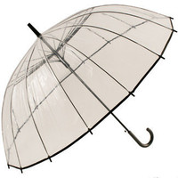 Sky Walker 16rib Clear PVR Automatic Umbrella