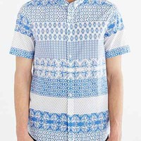 Oxford Lads Horizontal Lightweight Button-Down Shirt - Urban Outfitters